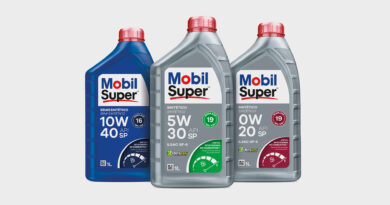 Lubrificantes da marca Mobil; contam com as tecnologias API SP e ILSAC GF-6